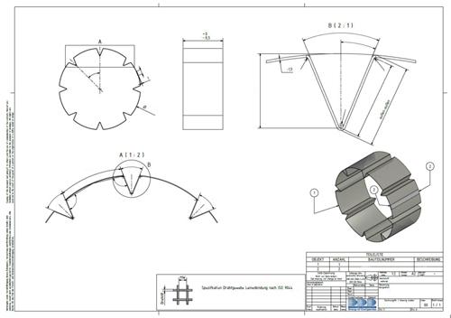 CAD Zeichnung Menü